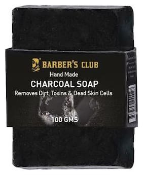Barbers Club Hand Made Organic Charcoal Soap - 100 g