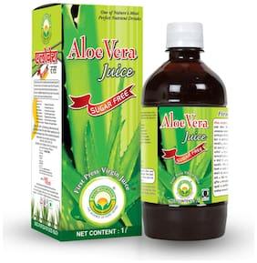 Basic Ayurveda Aloe Vera Juice(Sugar Free) 1 L