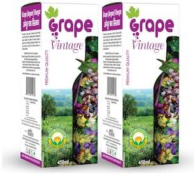 Basic Ayurveda Grape(Angoor) Vinegar (450ML, Pack Of 2)