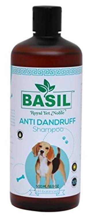 Basil Anti Dandruff Dog Shampoo, 500 ml