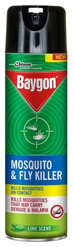 Baygon Fly & Mosquito Killer Spray - Lime Scent 200 ml