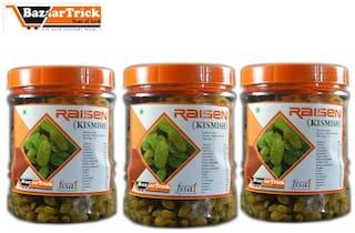 Bazaartrick premium quality Raisin(kishmish) 750 g (pack of250* 3)