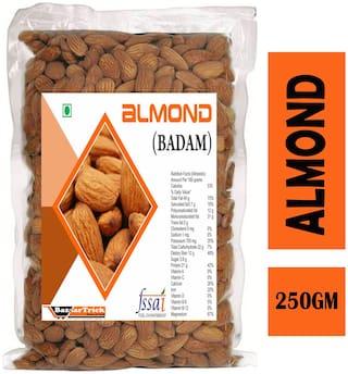 Bazaartrick Premium quality california almonds badam 250 g