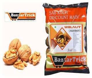 BAZAARTRICK premium quality WALNUTS(AKHROT) pack of 250 g