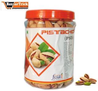 Bazaartrick premium quality Pistachio nut (pista) 500 g