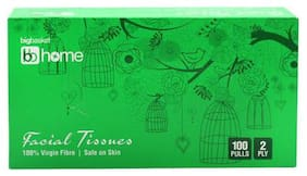 BB Home Facial Tissues - 2 Ply 100 Pulls