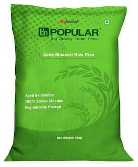 BB Popular Rice - Raw, Sona Masoori 25 kg