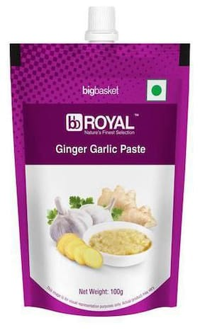Bb Royal Ginger Garlic Paste 100g