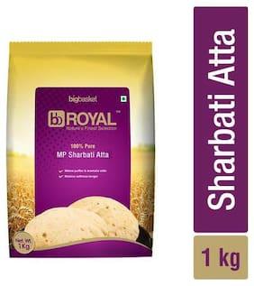 BB Royal MP Sharbati Wheat Atta - 100% Pure 1 kg