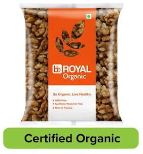 bb Royal Organic Walnut Kernels/Akharot 200 g