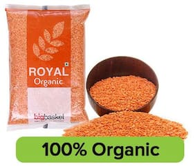 Bb Royal Organic Red Masoor Dal 500 Gm