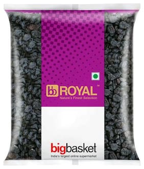 bb Royal Raisins/kishmish - Black  With Seeds 200 g