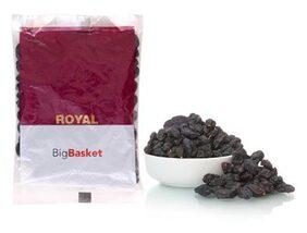 Bb Royal Raisins/Kishmish Black  Seedless 100 Gm
