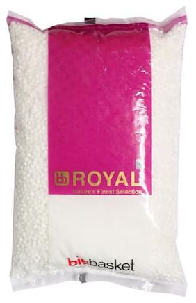 BB Royal Sabudana - White  Medium 1 kg