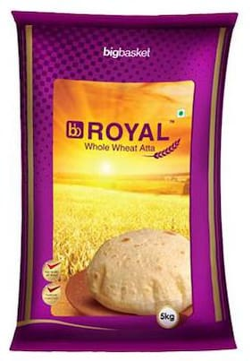 Bb Royal Whole Wheat Atta 5Kg