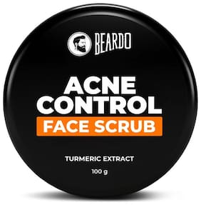 Beardo Acne Control Face Scrub 100 g  Made in India
