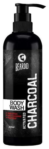 Beardo Activated Charcoal Bodywash 200 ml