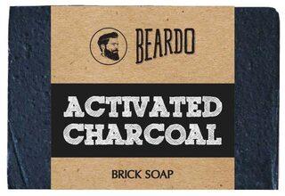 Beardo Activated Charcoal Brick Soap - 125 gm