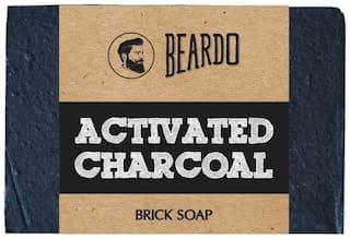 Beardo Activated Charcoal Brick Soap - 125 g
