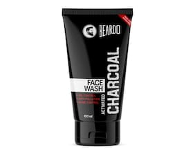 Beardo Activated Charcoal Acne Oil And Pollution Control Face Wash 100ml