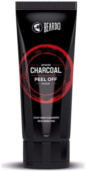 Beardo Activated Charcoal Peel off Mask - 100 gm