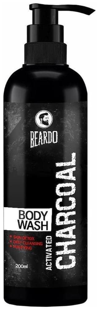 Beardo Activated Charcoal Body Wash 200 ml
