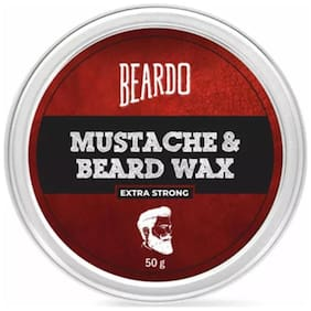 Beardo Beard And Mustache Wax Extra Strong - 50 gm
