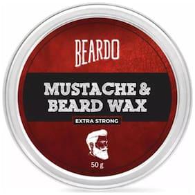 Beardo Beard And Mustache Wax Extra Strong - 50 gm