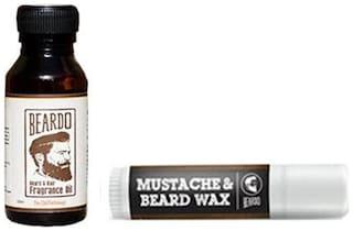 Beardo Beard & Hair Fragrance Oil The Old Fashioned 10 ml And Beardo Mustache & Beard Wax Stick 4 g Combo.