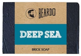 Beardo Deep Sea Brick Soap - 125 gm