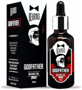 Beardo Godfather Lite Beard & Mustache Oil - 30 ml