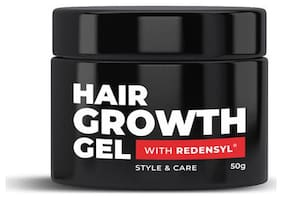 Beardo Hair Growth Gel for Men, 50g