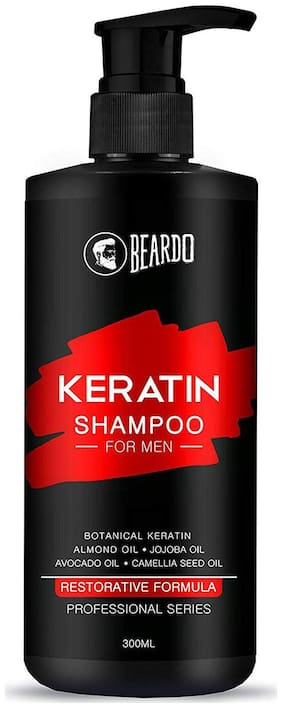 Beardo Keratin Shampoo For Hair Growth & Damage Control - 300 ml