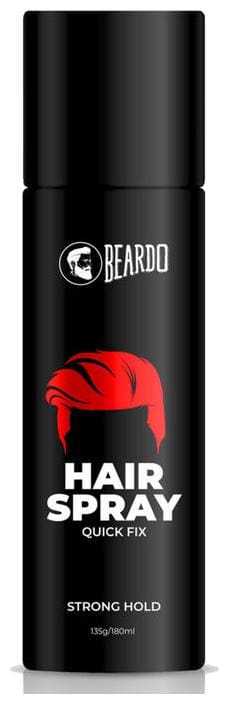 Beardo Strong Hold Hair Spray For Men Hair Spray 135 gm