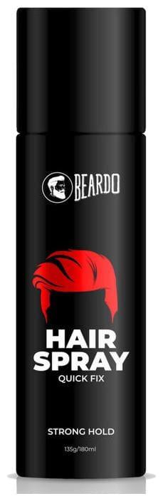 Beardo Strong Hold Hair Spray For Men Hair Spray 135 gm