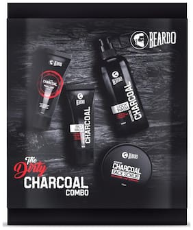BEARDO The DIRTY Charcoal Combo
