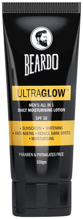 Beardo Ultraglow All In 1 Men'S Face Lotion - 100 g