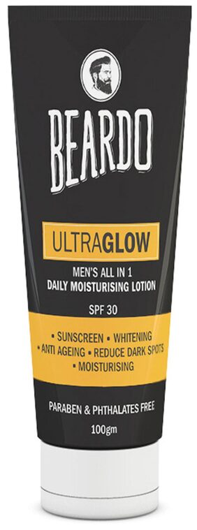Beardo Ultraglow All In 1 Men's Face Lotion-100 g