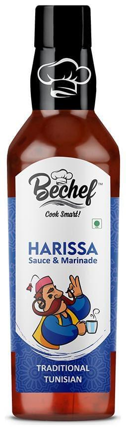Bechef Harissa :: Classic Tunisian Hot Sauce 250g