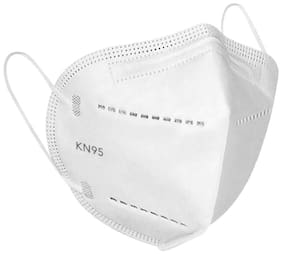 BectoSolve KN95 5-Layered Reusable Anti-Virus Breathable Face Mask (Free Size, With Nose Clip) With Filtration Rate   95% (Pack Of 1)