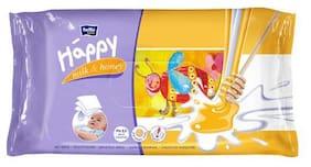 Bella Baby Happy Wet Wipes - Milk & Honey 64 Wipes