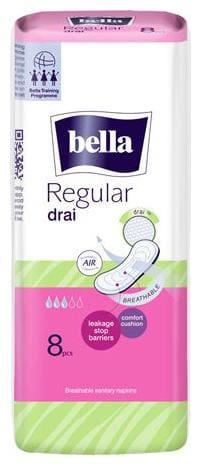 Bella Classic Sanitary Napkins - Regular  Drai 8 pcs