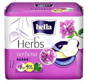 Bella Herbs Sanitary Napkins - With Verbena 12 pcs