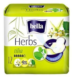 Bella Herbs Sanitary Napkins - With Tilia 12 Pcs