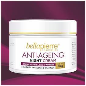Bellapierre Antiageing Night Cream Reduces Fine Lines & Wrinkles 50 gm