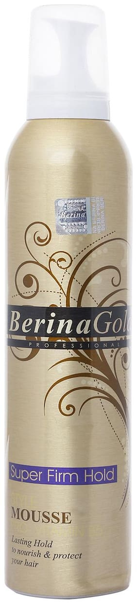 Berina Hair Styling Mousse- Super Firm Hold 300 ml (Pack Of 1)