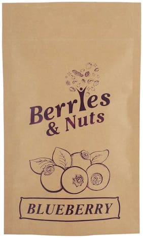 Berries And Nuts Dried Blueberries 250 Grams