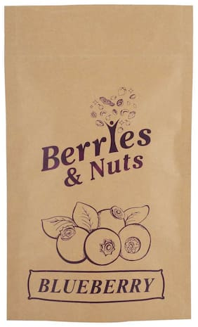 Berries And Nuts Dried Blueberries 100 Grams
