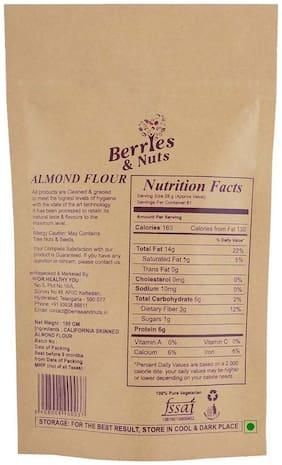 Berries & Nuts California Skinned Almond Flour (Badam Powder) 250 Grams