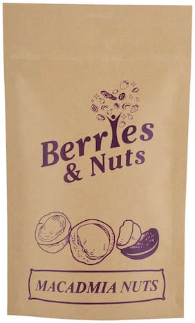 Berries And Nuts Premium Macadamia Nut 100 Grams